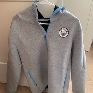 Manchester City Nike zip up sweatshirt